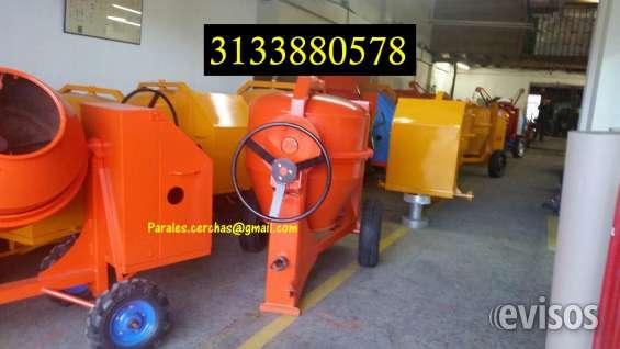 Mezcladoras para concreto fabrico comercializo