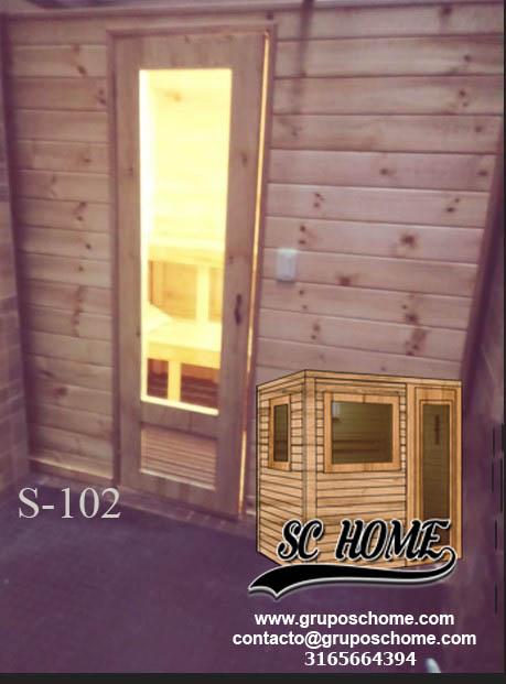 Fotos de Saunas en pino patula o madera teka 5