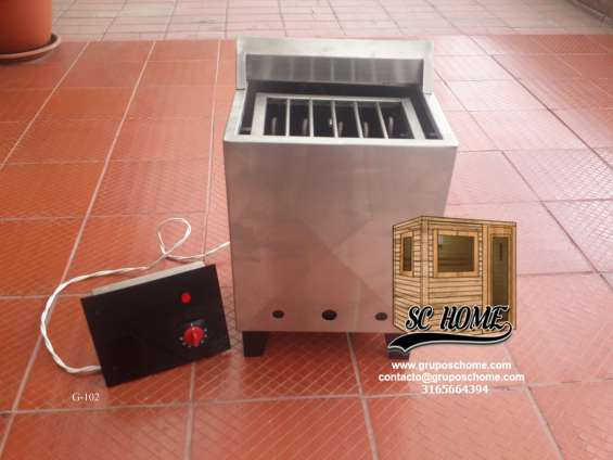 Suministramos generadores de calor para sauna