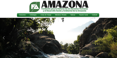 Fundamazona es una fundacion de protecion de reserva forestal