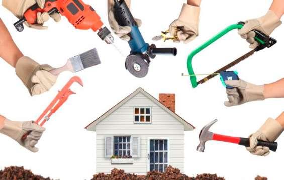 Reparaciones en plomería, pintura, albañilería, pisos y techos