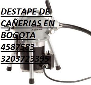 Plomeros bogota, 3903732 destapadores de cañerias 3134035858