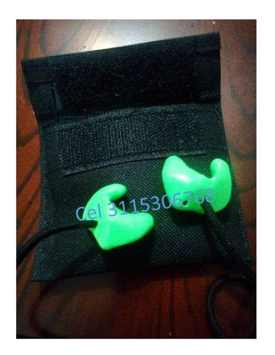Protectores auditivos a la medida vulcanizados