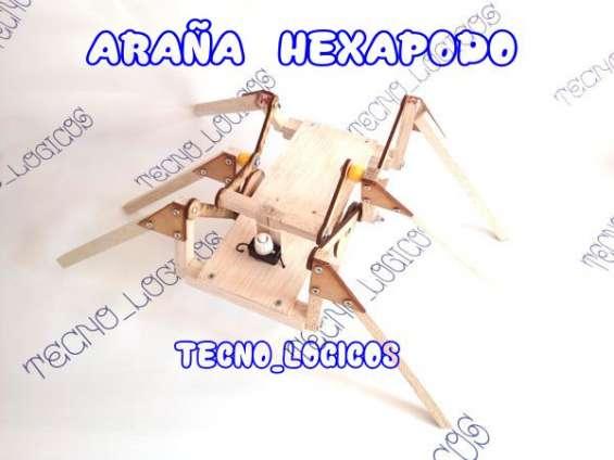 Hexapodo araña,aqui esta su tarea y/o proyecto.