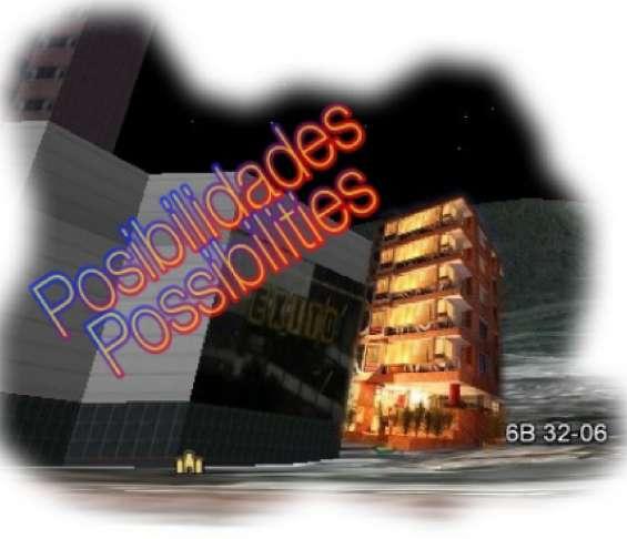 Edifique 5 pisos de apartamentos estudios!!!