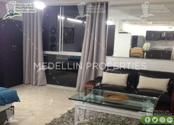 Apartamentos amoblados en alquiler en el poblado cod: 5072