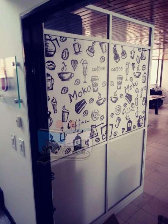 Divisiones para oficina en variedad de diseños(fabricantes)
