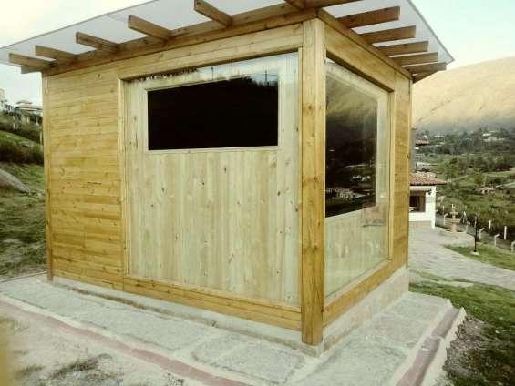 Saunas en madera para interior o exterior