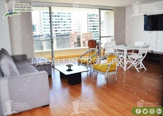 Apartamentos amoblados baratos en el poblado cod: 5078