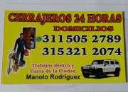 CERRAJERIA  BOGOTA 24 HORAS    CEL 311-5052789