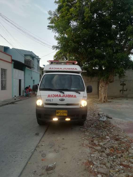 Arriendo o vendo ambulancias kia mitsubishi hyundai