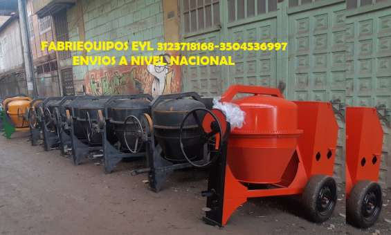Trompo mezclador gasolina, electricas o diesel