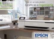 Venta de PLOTER DE ESCRITORIO EPSON T3170 DE 60 CM DE ANCHO