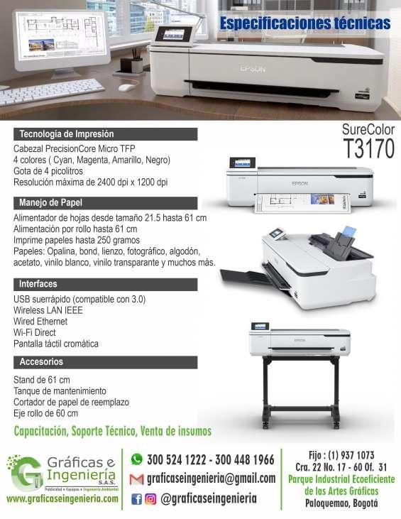 Fotos de Venta de ploter de escritorio epson t3170 de 60 cm de ancho 3