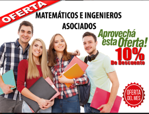 Solucionamos exámenes y trabajos de matemáticas, estadística, física, química,..