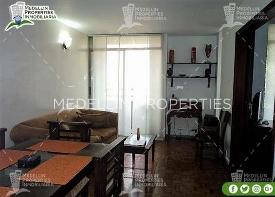 Apartamentos y casas amobladas por dias en medellin cód: 4443