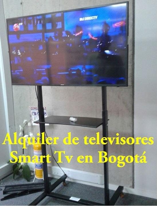 "Alquiler de televisores smart tv 39"", 43"" y 49"" en bogota"