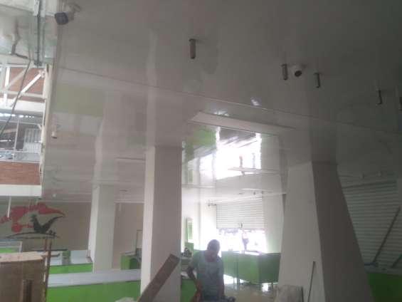 Instalación techos en pvc bogota