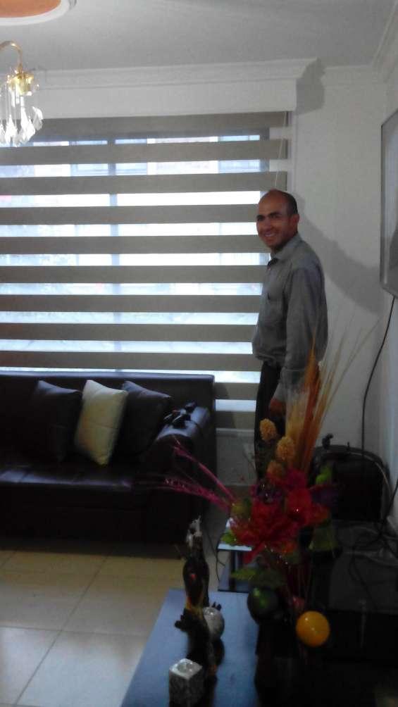 Instalacion de cortinas y persianas