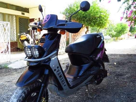 Vendo moto bws 100 modelo 2008