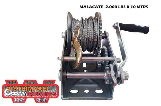 Winche manual malacate 2000lb 10m