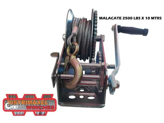 Winche manual 2500lb 10m
