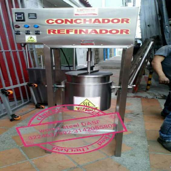 Refinador conchador de cacao - conchadora - tostadora de cacao