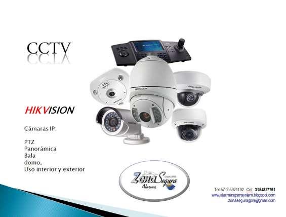 C.c.t.v. camaras para video vigilancia