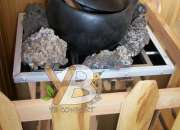 Generadores de calor para sauna en acero inoxidable