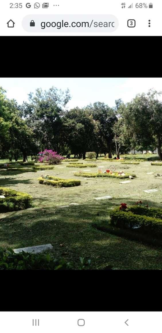 Lote doble cementerio metropolitano sur cali