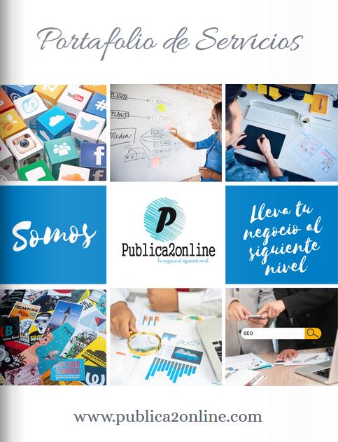 Diseño web publica2online