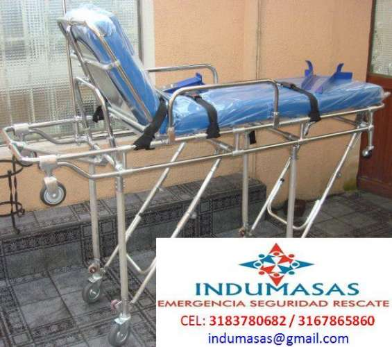 Camillas para ambulancia nacionales e importadas invima