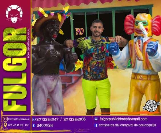 Camisetas carnaval de barranquilla 2020