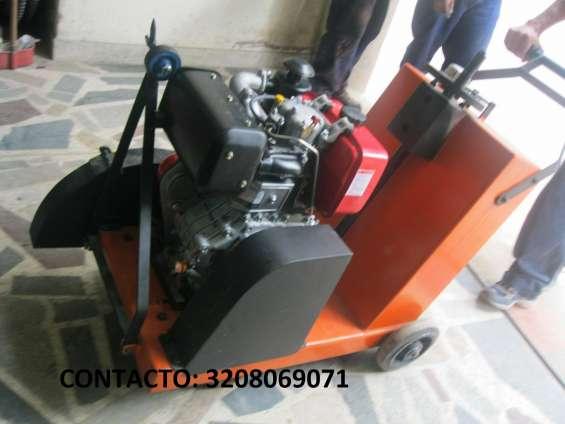 Cortadora de piso gasolina 13hp/3.600 rpm