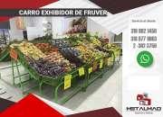 Góndolas y estanterías para supermercado, minimarkets, tiendas, negocios en proyección