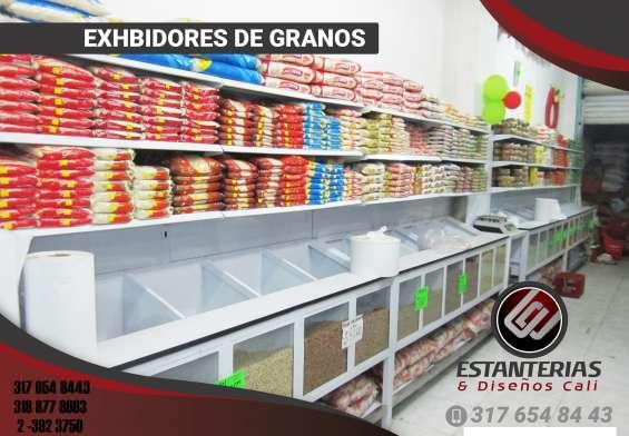 Fabricamos estanterias para exhibicion al mejor precio