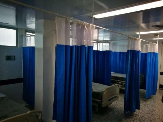 Cortinas antifluidos para clinicas y hospitales
