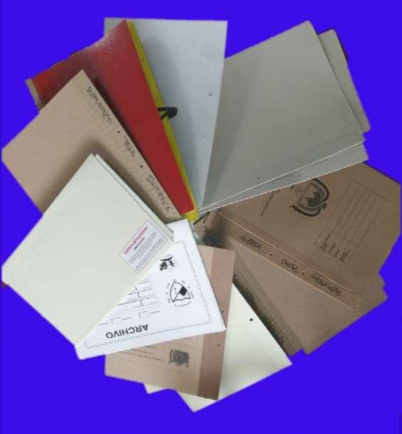 ccyg. sas. carpetas cajas y ganchos s.a.s.  somos una empresa fabricante en todo lo relacionado en archivo.  como son:  -  cajas para archivo x100 x200 x300. en blanco e impresas.  - juego de tapas en yute, propalcote de diferentes gramajes colores con o