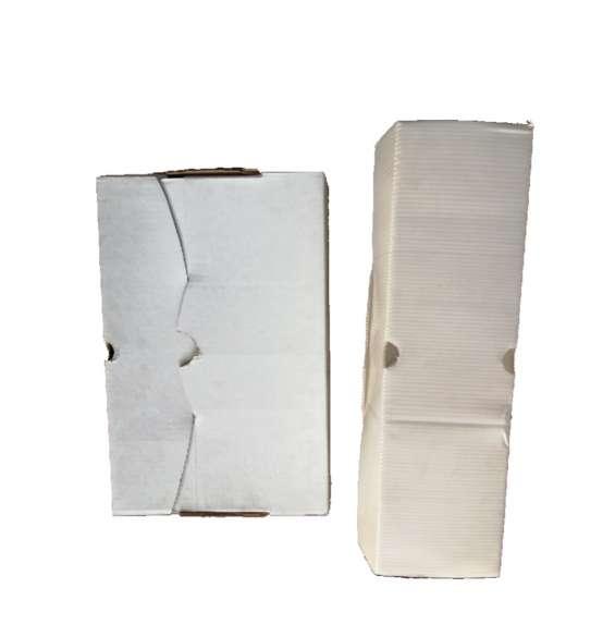 Caja ref x100 plástico corrugado