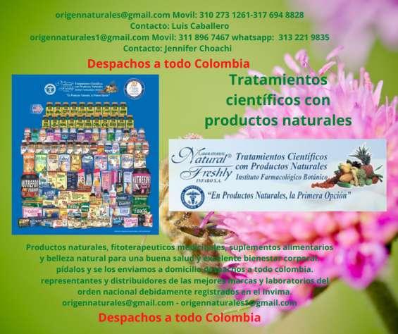 Productos naturales - viva bien y saludablemente tratamientos científicos con productos na