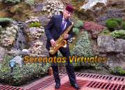 Serenatas Virtuales con Show de Saxofón