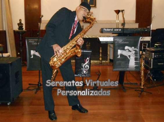 Serenatas con saxofon y pianos