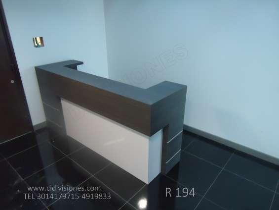 Fabricamos, instalamos muebles atencion publico