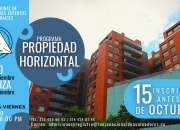 PROGRAMA EN PROPIEDAD HORIZONTAL