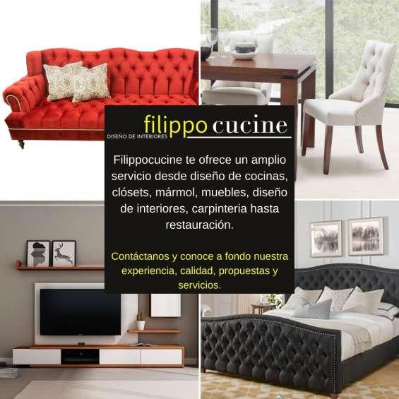 Diseño y fabricación de mobiliario en general