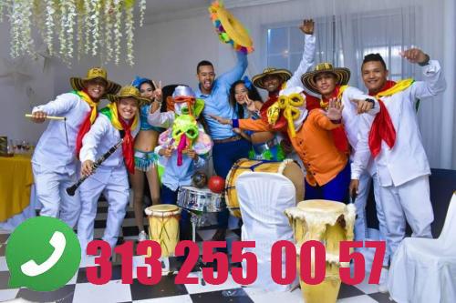 Grupo de chirimia gaiteros papayera tambora hora loca 301 681 36 88