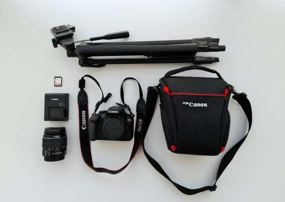 Kit de cámara canon rebel t100